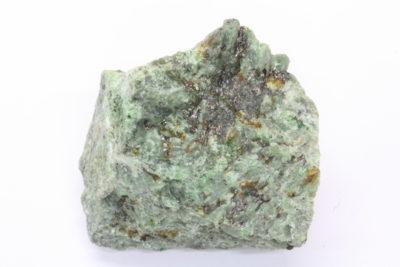 Uvarovitt, mikro i tremolitt B 85g 3x4cm fra Outokumpu i Finland