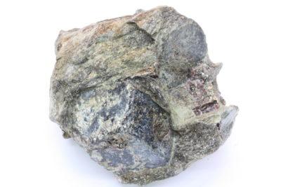 Almandin granat krystaller i moderstein 375g 7x8cm fra Granatdammen i Kongsberg Norge
