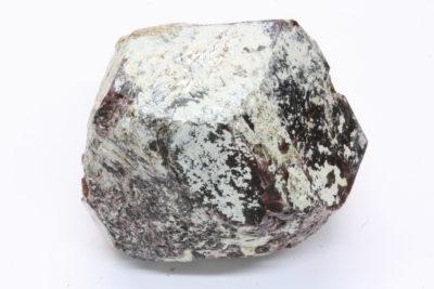 Almandin granat krystall B 240g 4.5x5cm fra Granatdammen i Kongsberg Norge