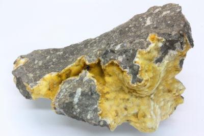 Natrolitt 250g 7.5x8cm fra Playa Blanca, Lanzarote Spania