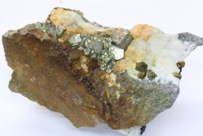 Pyritt 200g 7x8cm fra Minge gruver, Tune Sarpsborg Norge