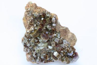 Vanadinitt 85g 4.5×6.5cm fra Mibladen, Midelt Marokko
