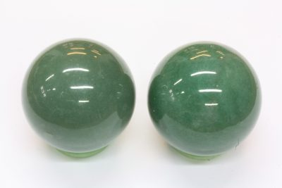 Aventurin grønn kule 40mm