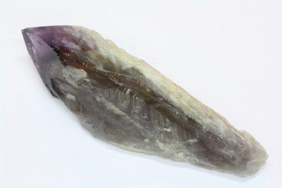 Ametyst krystall A med polert topp 340g 17cm lang fra Minas Gerais i Brasil
