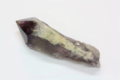 Ametyst krystall C med polert topp 280g 14cm lang fra Minas Gerais i Brasil