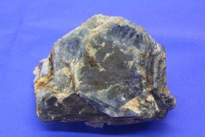 Safir med rubin kjerne i krystallen 760g 70x90x67mm fra Madagaskar
