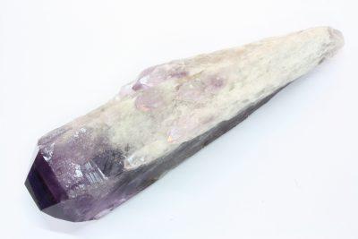 Ametyst D, Dragontooth, 535g 20cm lang fra Caetitè Bahia i Brasil