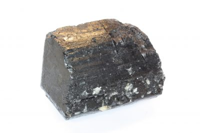 Schorl » sort turmalin» krystall 525g 6.5x8cm fra Minas Gerais i Brasil