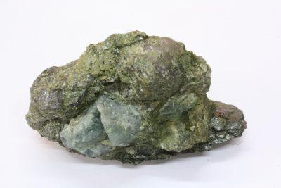 Apatitt 100g 4x7cm fra Knipane gruver i Iveland, Norge